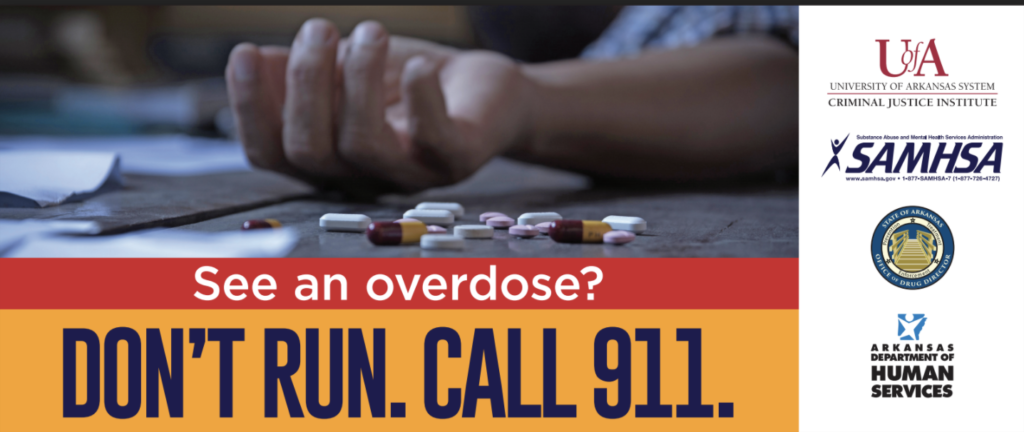 Don't Run Call 911 logo