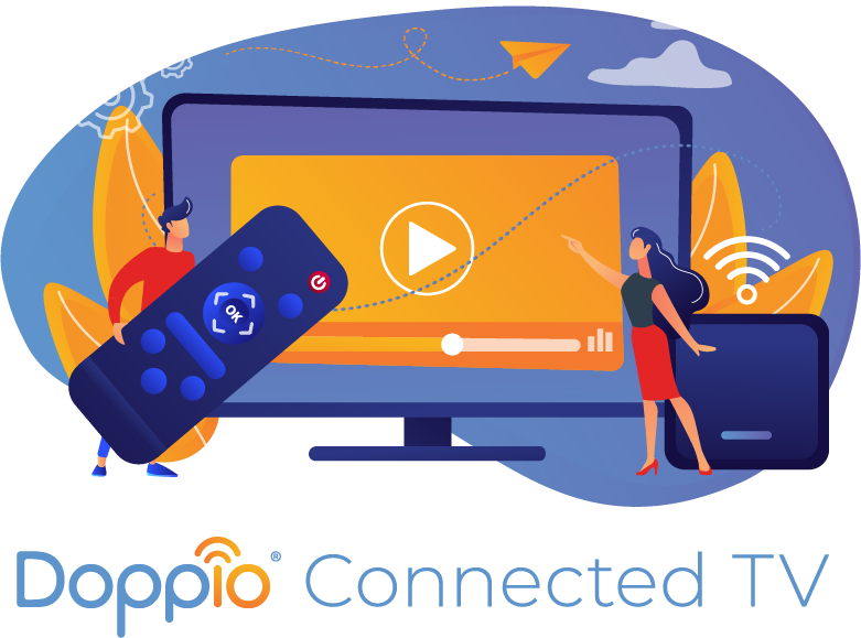 Doppio Connected TV Advertising Services