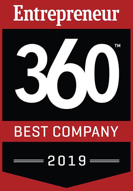 Entrepreneur 360 Best Company