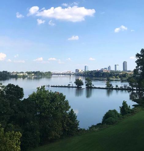 Little Rock marketing firm Arkansas River view MHPTeam SI